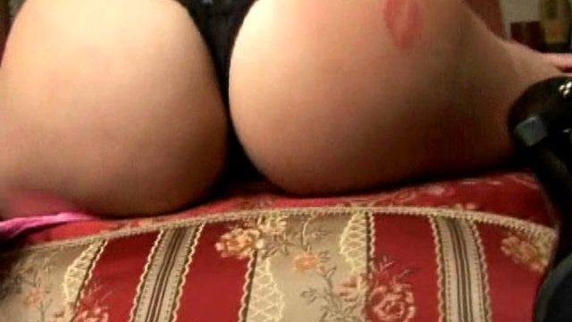 Bewitching Blond Schoolgirl Exgirlfriend In Top Heels Dani Shaking Her Fuckable Cheeks