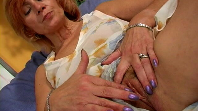 Inviting Granny In Mini Get Dressed Mite Touching Her Frame With Lust