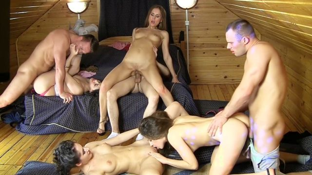 Pretty Baby Sluts Experience A Depraved Faculty Anal Orgy