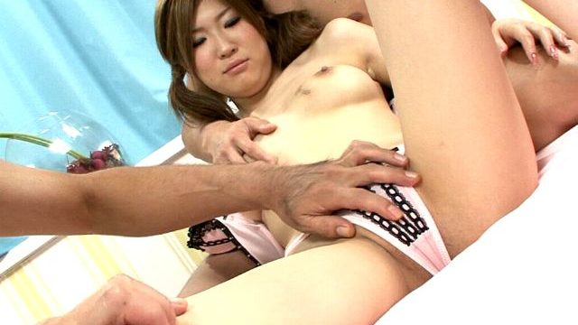 Petite Jap Teenage Nymphet Izumi Koizumi Will Get Risqué Frame Massaged By Way Of Two Dudes