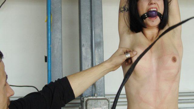 Alexa Suffers Caning & Nip Torture For Smoking