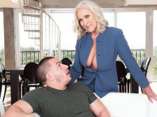 <b>big-boobed 60plus Realtor Katia Tears Up 23-year-old Customer</b>
