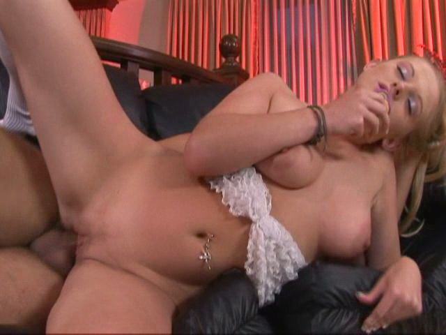 Big-titted Towheaded Teenage Hotty Estelle Will Get Boinked From Tail End Via A Monster Fuck-stick