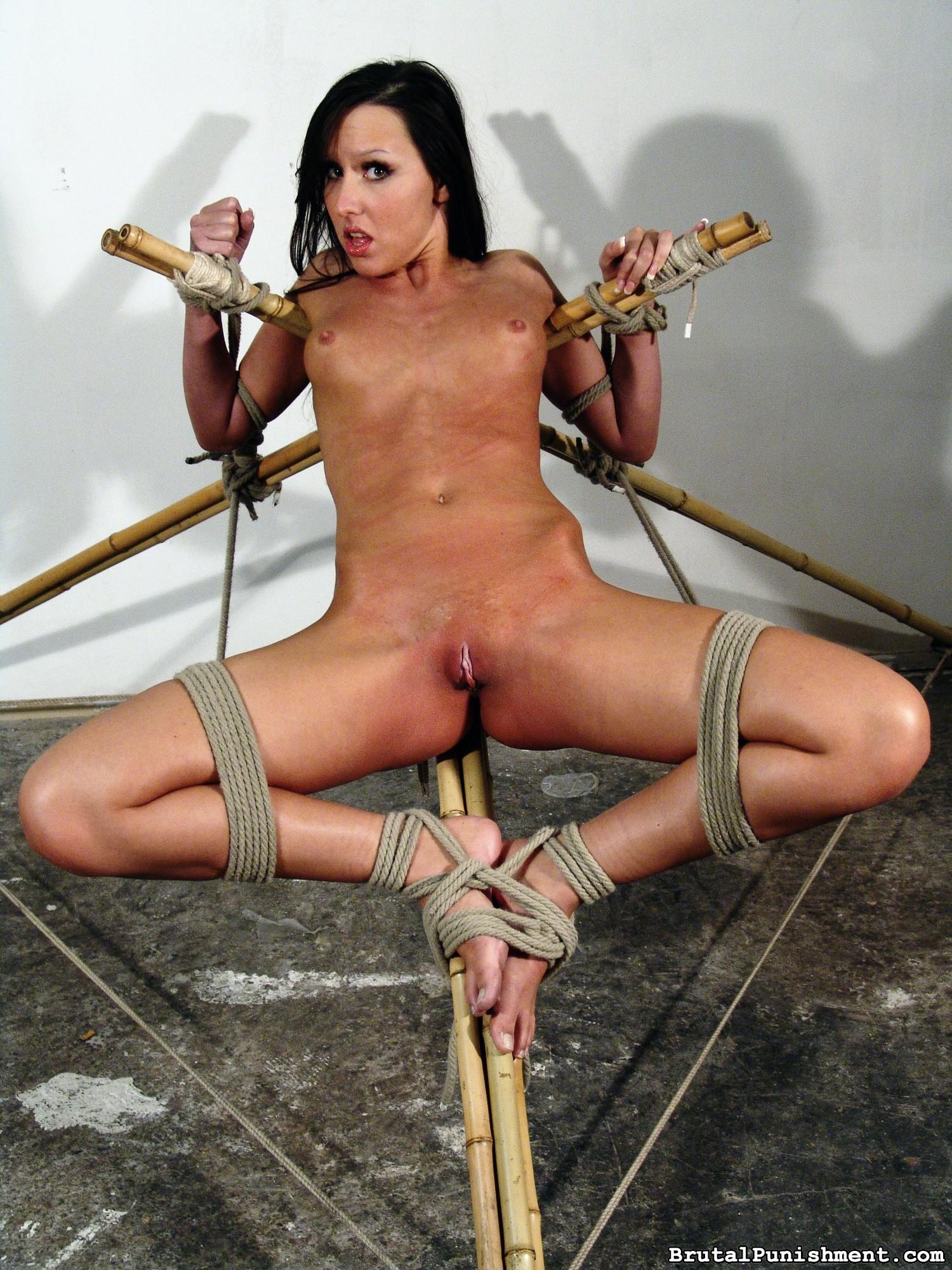 Super-naughty Ache Mega-slut Nicole Suffers Every Other Restrain Bondage Consultation