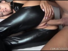 Austrian Fledgling Teenager Getting Arse Crammed With Jism