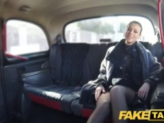 Faux Cab Czech Dame Thirsts A Stiff Hard-on