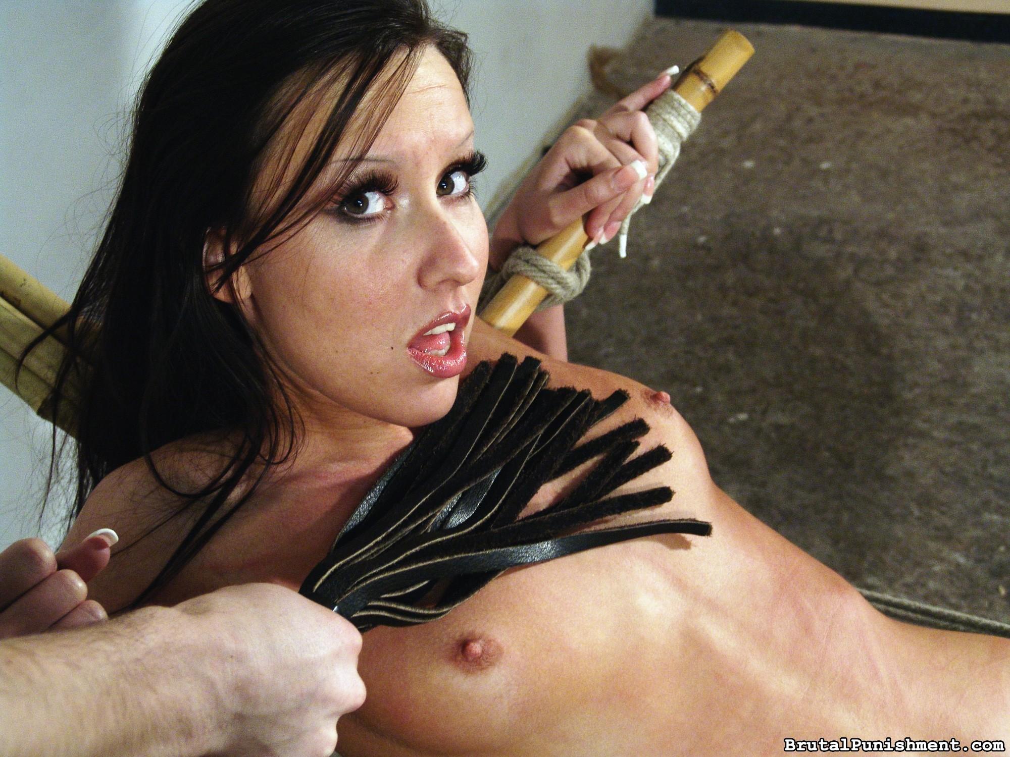 Wild Agony Bi-atch Nicole Suffers Some Other Restrain Bondage Consultation
