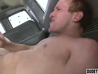 Jock Stud  Will Get In A Automotive And Plumbs Dude Flick