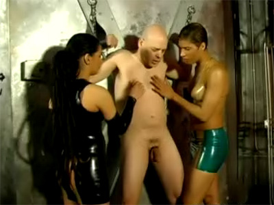 Bare Gimp Will Get Corded And Prick Tormented